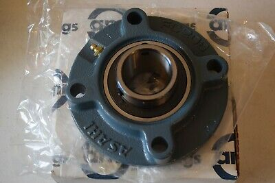 Ami Ucfc208C4Hr23 Flanged Mount Ball Bearing 4 Bolt 40Mm Bore W/Set Screw Nib