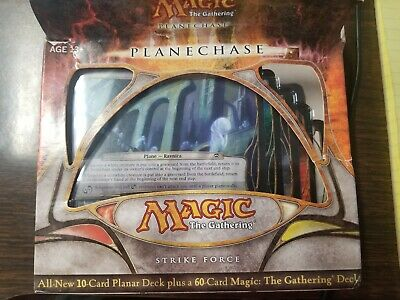 Magic the Gathering MTG Planechase 2009 Strikeforce + Promo Tazeem FREE US Ship