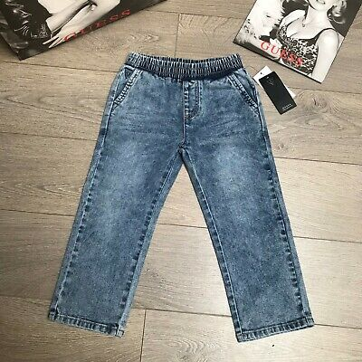 GUESS jeans Girls blue jeans 5Y BNWT 100% Genuine