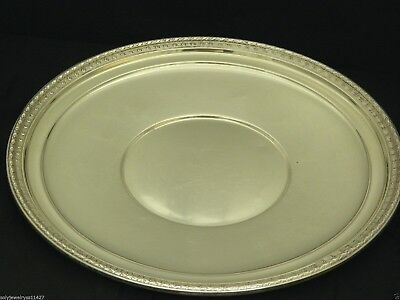 """International Sterling Sliver 12""""inch Pastry Plate Tray #H290 Best Deal"""