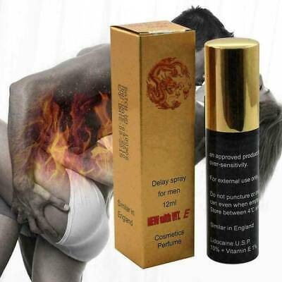 Super Dragon 6000 Extra Strong Delay Spray For Male Men With Vitamin E Best 12ML