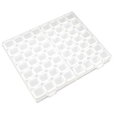 56 Grids Manicure Storage Box Diamond Painting Accessories DIY PP Wear Resistant