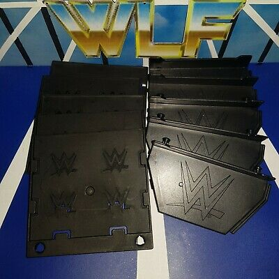 5 x Figure Stands (Read Info) - Mattel Accessories for WWE Wrestling Figures