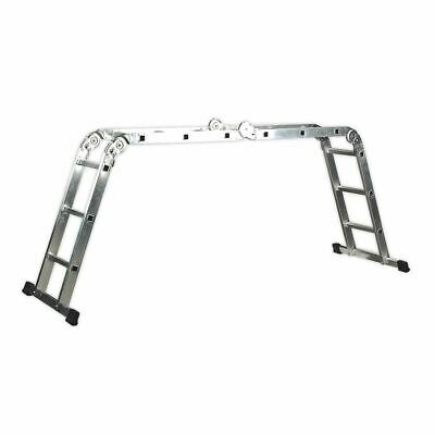 Sealey Aluminium Folding Platform Ladder 4-Way EN 131 AFPL1