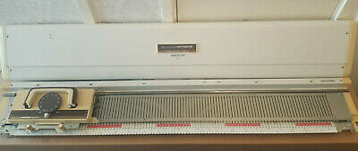 Silver reed knitmaster Mod 151 chunky knitting machine sold as seen