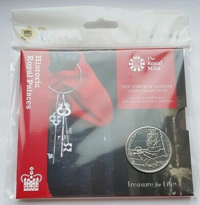 2019 Royal Mint Tower of London, Ceremony of the Keys £5 Five Pound BU Coin Pack