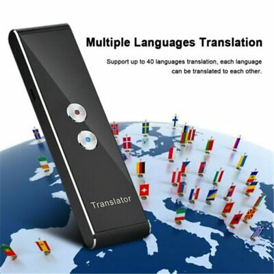 T8 Portable Mini Wireless Smart Translator 40 Languages Two-Way Real Time