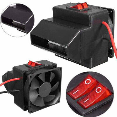 12V 24V 200W PTC Cars Fan Air Heater Constant Temperature Electric Heating