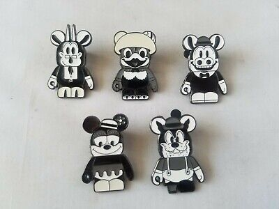 Disney Trading Pins Official Vinylmation Characters Lot of 5 Collectible