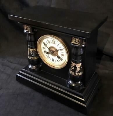 Antique french clock Egyptian revival