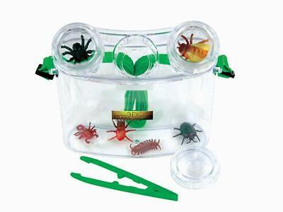 3D Bug Viewing Kit (11 piece) Science Teachers Resource Kids Learning
