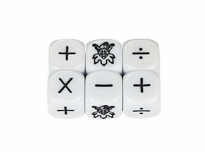 Dice Set of 6 x  Four Operations Teacher Resource for Maths Learning Educational