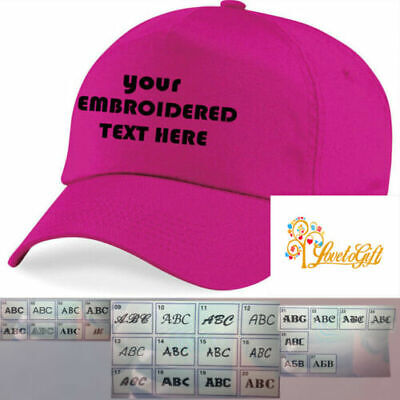 Personalised Embroidered  Baseball Cap Custom made Work Stag Hen Birthday Gifts
