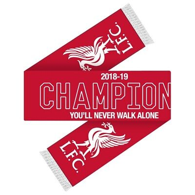 Liverpool football club Champions Scarf the reds LFC the pool YNWA