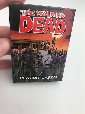 The Walking Dead Comic Version Card Game Deck Of Cards Standard
