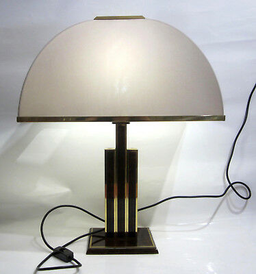 Lampe Italien Willy Rizzo Design Höhe ca. 62 cm