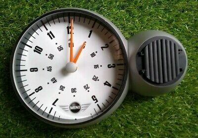 MINI John Works Cooper S Red Speedometer Car Accessory Cuckoo Wall Watch Clock