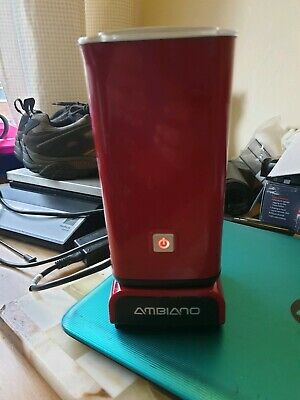 Red Ambiano Electric Milk Frother And Heater Fwo