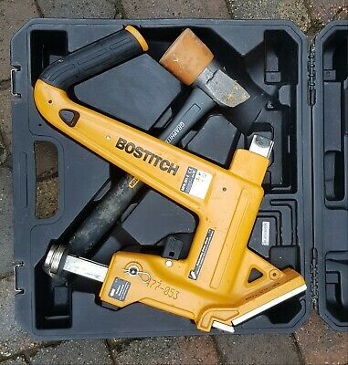 Bostich floor board nailer Mallet &  case