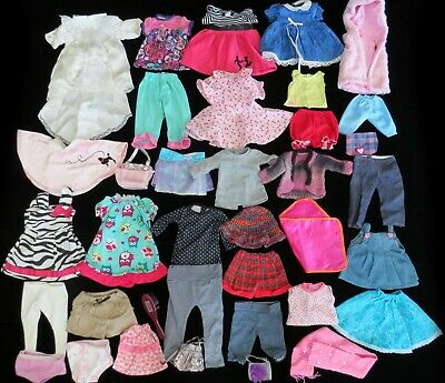 """HUGE LOT 18"""" Doll Clothes, x37 Pieces, American Girl Brush, Accessories"""