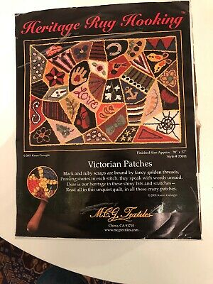 Heritage Rug Hooking Victorian Patches Kit