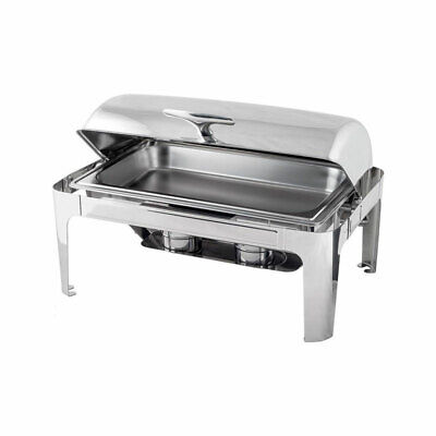 9Ltr Roll Top Chafing Dish Fits 1/1 Pan