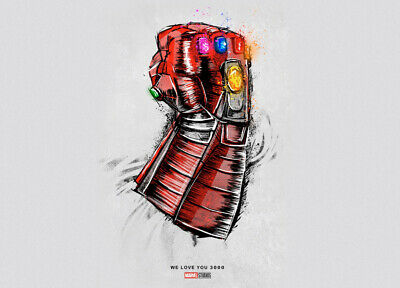 *LIMITED* Avengers Endgame Re-release Promo movie poster print