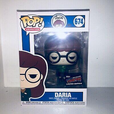 Funko Pop! Daria MTV NYCC 2019 LE Exclusive Official Sticker VInyl In Hand