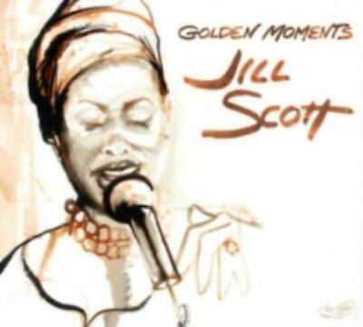 Golden Moments  CD - Jill Scott - Greatest hits album