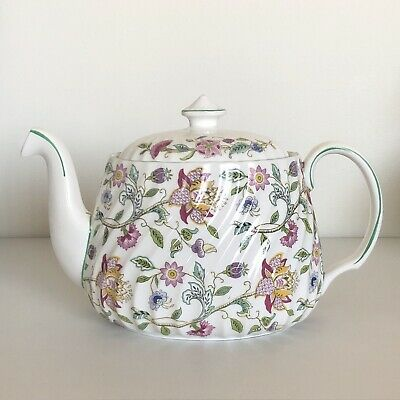 Minton Haddon Hall Large Teapot England First Quality