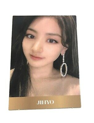 TWICE 8th Mini Album JIHYO Feel Special Official Photocard KPOP JIHYO JD3