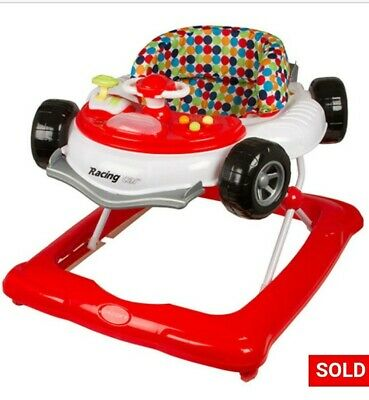 Brand New Childcare Racing Car Walker Activity Centre