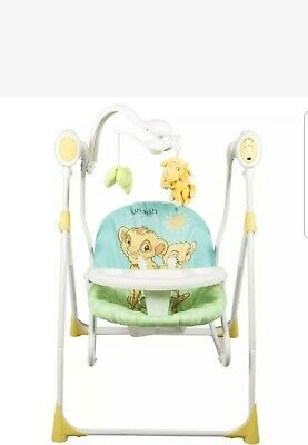 Brand New Disney The Lion King Baby Simbe 3 in 1 Swing