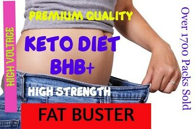 PREMIUM KETO DIET FAT BURN Pills✔️BHB+ ✔HIGH Voltage ✔WEIGHT LOSS ✔️SUPER SLIM✔️