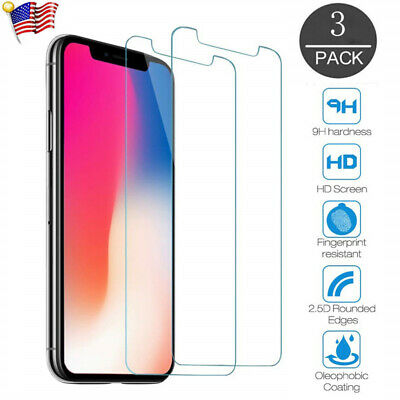 LOT iPhone 11 Pro X XR XS Max Caseswill Premium Tempered Glass Screen Protector