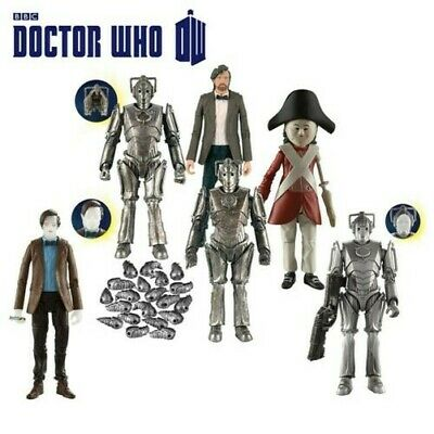 DOCTOR DR WHO série 6 personnages figurines-cybermats