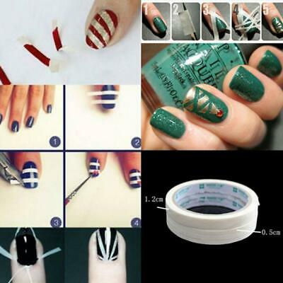 Edge Decoration DIY Stripe Adhesive Striping Tape Rolls Line Nail Art Sticker