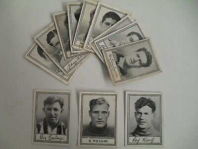 Barratt Famous Footballers X 3 Cards B Williams, Ray Barlow, Ray King + Freebies