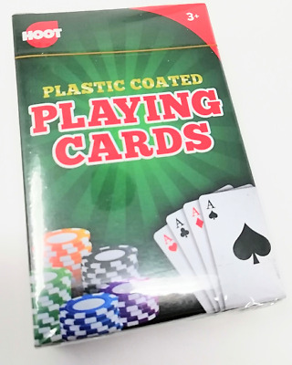 Playing Cards Plastic Coated Sealed Poker Game Games Fun Casino Night In New