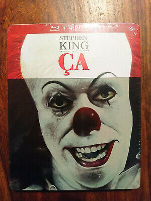 Ca - Stephen King ( version 1990 ) - steelbook blu-ray - NEUF SOUS BLISTER
