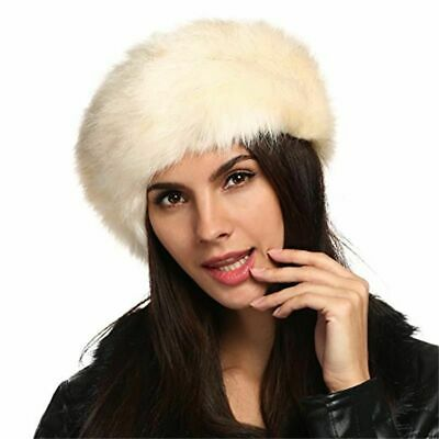 Faux Fur Winter Warm Hats For Ladies Solid Polyesters Fashionable Head-Wears New