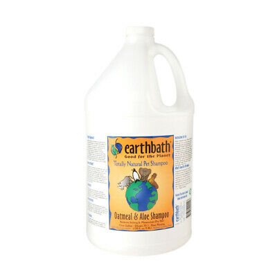 Earthbath Oatmeal & Aloe Soothing Dry Skin Itch Relief Pet Shampoo, 3.8L