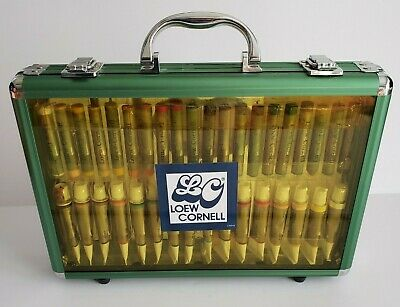 LOEW CORNELL Oil Pastels & Oil Color Paints Kit Case