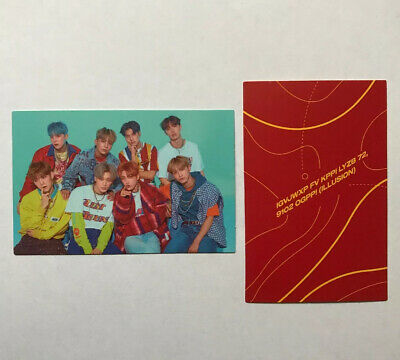 OFFICIAL Ateez Group & Coordinate Photocard (Treasure EP.3 Wave and Illusion)