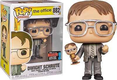 Funko Pop: The Office Dwight Schrute With Bobblehead NYCC 2019 **IN HAND**