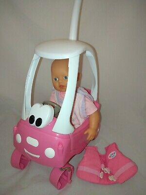 Zapf Creations Little Baby Born COSY COUPE Car & My First Annabelle 34cm Doll