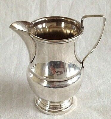 Vintage silver plated jug by Garrards of London