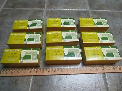Lot of 9 Vintage Singer Sewing Machine Model 714 Accessories Boxes EMPTY