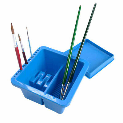 With Holder For Drawing Tub Multifunction Watercolor Tool Brush Washing Bucket