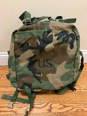 U.S. Military Army Woodland 3 Day Assault Pack / Bugout Bag NEW W/Stiffener Pad.